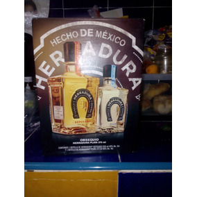 Tequila Herradura Reposado De 950ml Y Tequila Plata 375ml