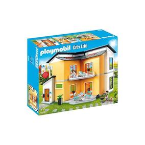 Playmobil Conjunto De Casa Moderna