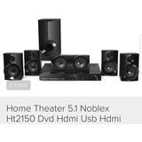 Home Theatrer 5.1 Noblex Ht2150 Dvd Hdmi Usb Radio Am / Fm