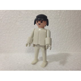 Playmobil Boneco Enfermeiro Cabelo Preto Trol 1973 043