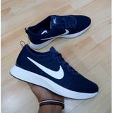 cc32c8beaafe Tenis Zapatillas Nike Dualtone Racer Azul Blanca Hombre
