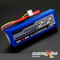 Bateria Lipo Para O Rádio Turnigy 9xr 2200mah 3s 11.1v 1,5c