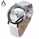 Reloj De Pulsera Acero Inoxidable Hueco Triangular Allbuys