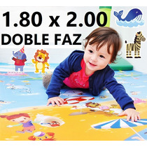Alfombra Infantil - 2,00 X 1,80 - Bebes Manta Reversible