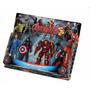 Avengers Vengadores Hulkbuster X 4 Muñecos Blister V Crespo