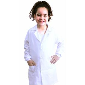 Jaleco Infantil Microfibra Com Punho