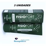Pomada Massagem Dor Muscular Fisio Fort Fisioterapia 3 Un