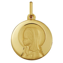 Medalla Virgen Niña De Oro 14-1030104l/13 - Argyor