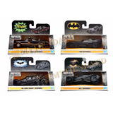 Batman Batimovil Set 4 Pz Jada Metals Diecast 1:32 Batmobile