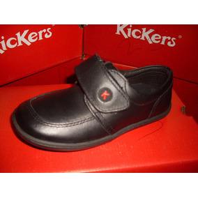 Zapatos Escolares Kicker Talla- 37-38