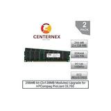 Kit De 256 Mb (módulos 2x128mb) Memoria Ram Para Hpcompaq Pr