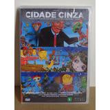 Dvd Cidade Cinza - Temática Grafites (novo, Lacrado)
