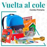 Combo Primaria Vuelta Al Cole Rivadavia Mochila Canopla