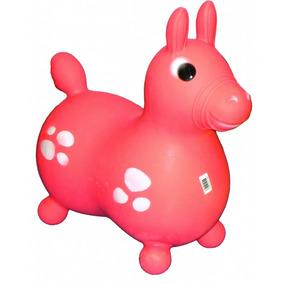 Caballito Inflable Saltarin De Goma Original Turby Toys
