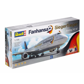 Revell - Boeing 747-8 Fanhansa Siegerflieger Lufthansa 1:144