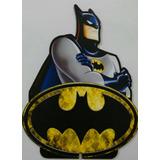 Kit Batman 4 Displays Mesa 22cm Aniversário Infantil 4.80und
