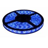 Cinta Led Azul 5m 12v 5050 Resistente Al Agua Y Polvo