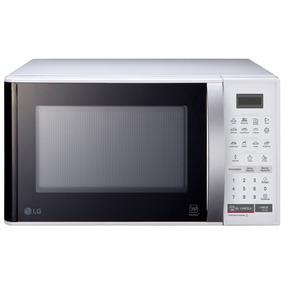 Micro-ondas 23 Litros Lg Easy Clean Ms2355r Branco 110v