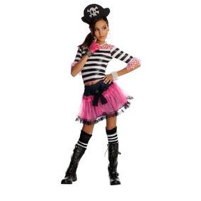 Disfraz De Pirata Para Niña Talla M