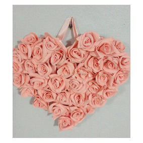 Lindo Quadro De Rosas Em Eva Decoração Romântica
