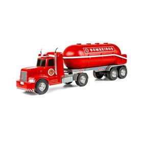 Brinquedo Infantil Superfrota Bombeiros Tanque - Poliplac