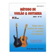 Livro Método De Violão E Guitarra Vol.01 Revista Aprender