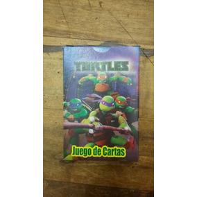 Cartas De Tortugas Ninjas 2 Juegos En 1