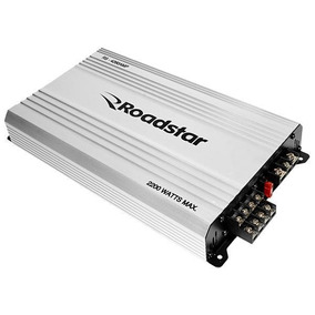 Modulo Automotivo Roadstar Rs-4260amp 2200 Watts De 4 Canais
