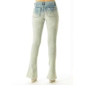 b28c8b91f Calça Flare De Brim/sarja (grossa Igual Jeans) - Calças Feminino em ...