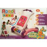 Caminador Andador Rondi Nena Bebé 3 En 1 Didáctico- Zona Sur
