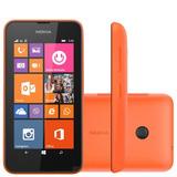 Smartphone Nokia Lumia 530 Dual Preto Com Windows Phone 8.1,