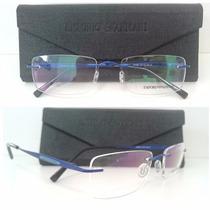 Armação Armani P/ Óculos De Grau Masculina Feminina Sem Aro