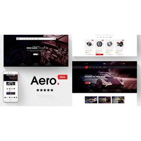 Tema Prestashop 1.7 Aero Automotivo Peças Carro Loja Virtual