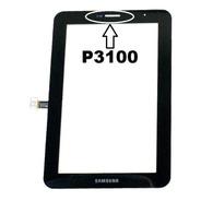 Tela Touch Tablet Samsung P3100 Galaxy Tab 2  Preto 7 Pol