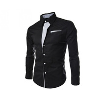 Camisa Masculina Slim Fit Lançamento Envio Em 24 H