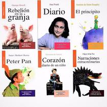 6 Libros Infantiles Principito Ana Frank Peter Pan Corazòn *
