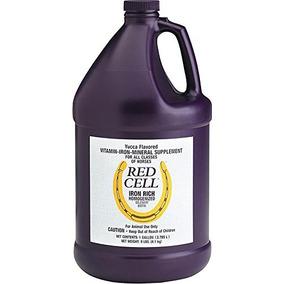 Farnam Caballo Rojo Suplemento Celdas De Gel, 1 Galón