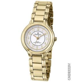 b60abeeb8d7 Relogio Feminino Pequeno Dourado Champion - Relógio Champion ...