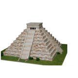 Kit Maqueta 3d Templo Kukulkan Ceramica Nuevo Grande Complet