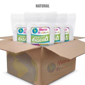 Caixa Massa De Biscuit Mundo Das Massinhas Natural - 10kg