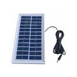 Painel Placa Solar 12v 3w Portátil Carregador Fotovoltaica