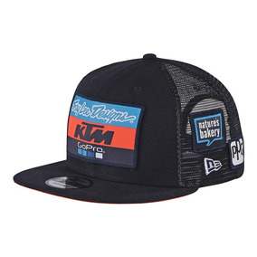 Gorra Troy Lee Designs Ktm Team 9fifty Visera Plana Hombre f9ec1a4268e