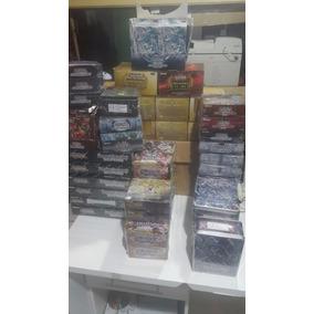 Lote Produtos Yugioh Varias Edições (box, Latas,pack Ouro..)