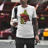 Camiseta Hombre Comics Hongos Autoritaria K137