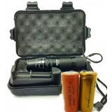 Lanterna Tática Militar X900 + Brinde Bateria 26650
