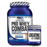 Whey Concentrado Combat + Creatina 90g Profit Labs