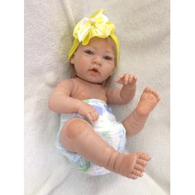 Boneca Bebe Reborn + Enxoval Frete Grátis