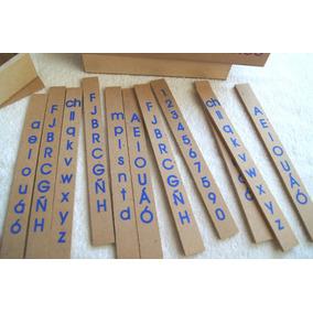 Alfabetición, Alfabeto Movil, Material Didáctico.