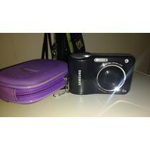 Câmera Digital Samsung Preta 12.2mp Zoom Óptico 5x Lcd 2,5
