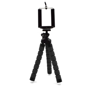 Mini Tripé Flexível Para Smartphones E Câmeras